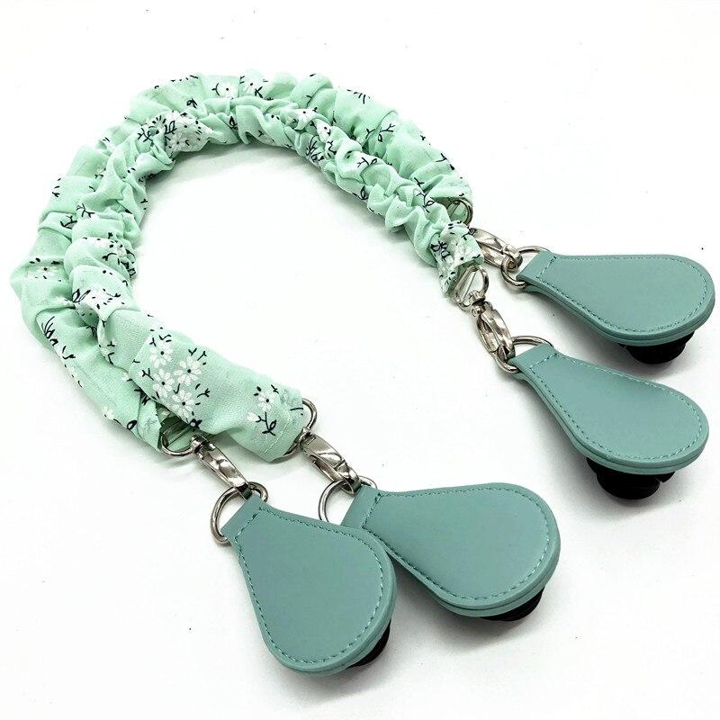 1 Pair Green Slik Design Handles For Obag Handbag