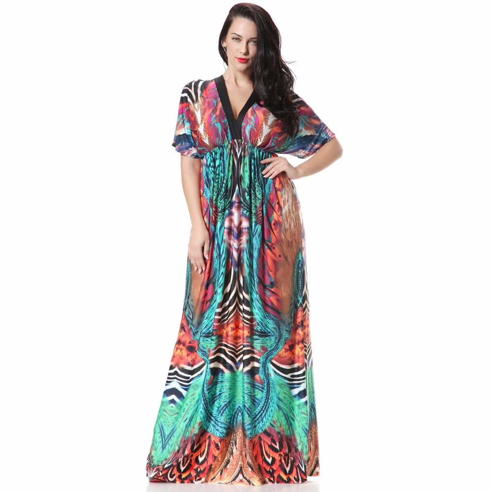 5de62804e5 Feitong Woman Clothes Women Boho Summer Chiffon Floral Party Beach Long  Maxi Dress Autumn New Arrival. US  9.68. Summer Full African Dresses For  Women High ...