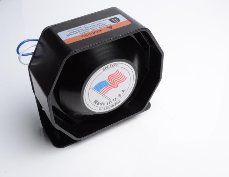 Ultra Slim font b Electronic b font Horn Car Alarm Siren Loudspeaker Horn Automotive Siren Car