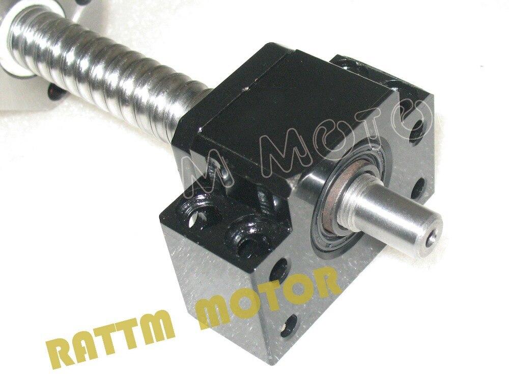 Tva ue gratuite 3 vis à billes SFU1605-350/650/1050 + 3BK/BF12 & 3 ensemble BK/BF12 & 6 pièces SBR20 rails de guidage linéaire et 3 coupleurs pour Kit de CNC - 4