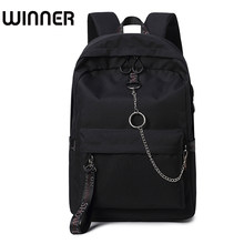 Fashion Waterproof Fabric Women Backpack Lovers Travel Knapsack Korean Personality Design College Girls Bookbags Bagpack(China)