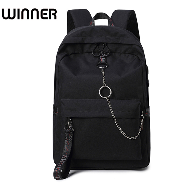 ad6ee7571e Fashion Waterproof Fabric Women Backpack Lovers Travel Knapsack Korean  Personality Design College Girls Bookbags Bagpack. Not in ...