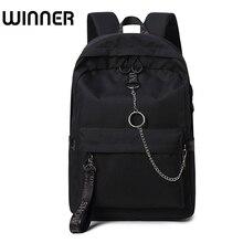 Fashion Waterproof Fabric Women Backpack Lovers Travel Knapsack Korean Personality Design College