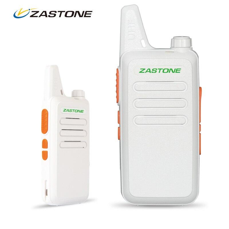 bilder für 2 stücke Zastone ZT-X6 Professionelle Fernsprechgeräte Tragbare 2 Way CB Ham Radio Kleine UHF Mobile Radio Kommunikation