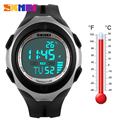 2016 New Thermometer Stopwatch For Men Light Waterproof Date Alarm Digital LED Sport Men Lady Wristwatch Hombre Reloj SKMEI 1080