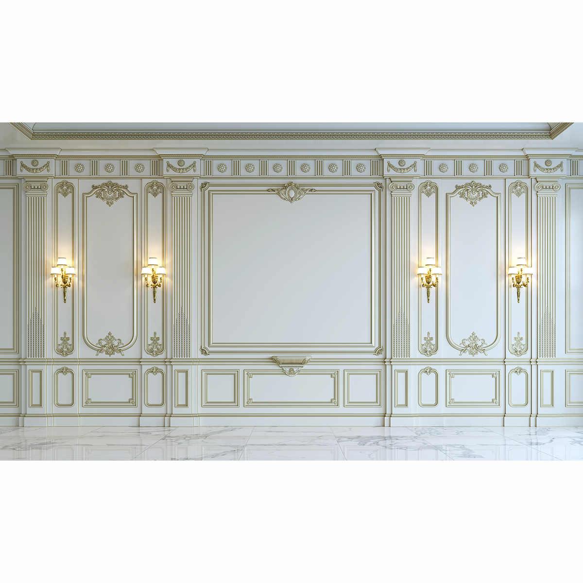 Fondo Allenjoy para estudio fotográfico Palacio de lujo mármol retro europeo telón de fondo fotografía photocall