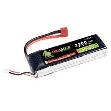 Лев Li-Po Батарея 7.4 В 2200 мАч 25C Max 40C T штекер для rc автомобиль