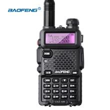 Baofeng walkie talkie DMR-5R nuevo tipo DMR UV5R Walkie Talkie de Doble Banda de Radio Digital DSP Radio 128CH VOX Linterna Portátil