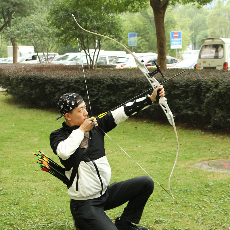 66 68 70 30lbs 34lbs 40lbs Takedown Recurve Bow Hunting Target Shooting Right Hand Archery Shooting Practice wholesale archery equipment hunting carbon arrow 31 400 spine for takedown bow targeting 50pcs