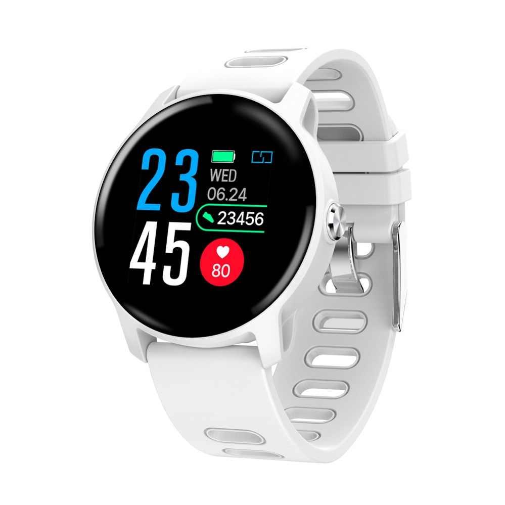 BINSSAW S08 ساعة ذكية للماء Ip68 مراقب معدل ضربات القلب بلوتوث Smartwatch السباحة مع استبدال الأشرطة ل IOS الروبوت