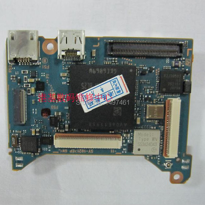 все цены на  New Main circuit Board Motherboard PCB repair Parts for Sony DSC- RX100M2 RX100II RX100-2 digital camera  онлайн