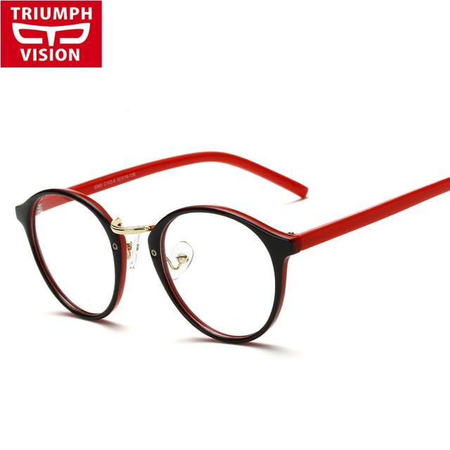34905250a3 TRIUMPH VISION montura redonda gafas mujeres Vintage moda miopía gafas  marco mujeres marca 2016 gafas mujeres