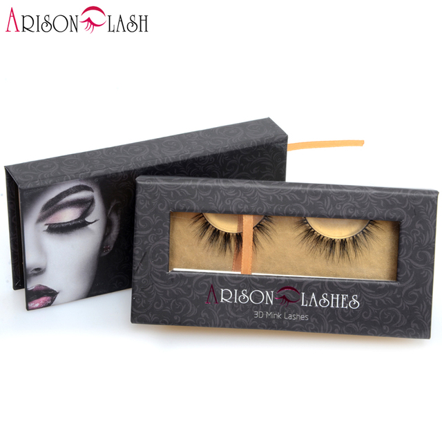 New Natural Soft 3D Mink EyeLashes Makeup Handmade Thick False Eyelashes Extension Beatrice Arison 1/ps free shipping
