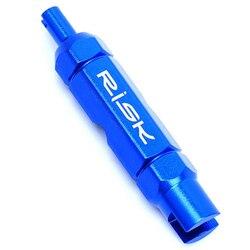 Ryzyka klucz do zaworów rowerowe koła dętka zawór REMOVER narzędzie do usuwania w Zawory od Sport i rozrywka na