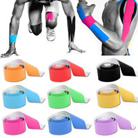 5M 5cm Sports Elastic Kinesiology Tape Roll Physio Muscle Strain Injury Support