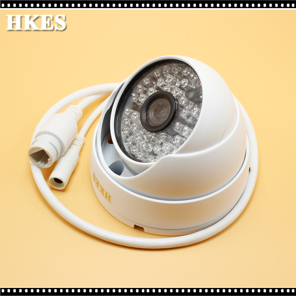 HD 1920*1080P 2.0MP Outdoor Indoor IP Camera 48IR LEDs Security Metal Dome Camera ONVIF P2P IP CCTV Cam System Free Shipping