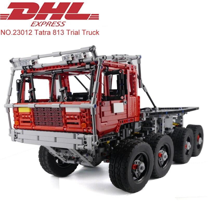 Lepin 23012 2839Pcs Technic Figure MOC Tatra 813 Trial Truck Model Building Kits Blocks Bricks Educational
