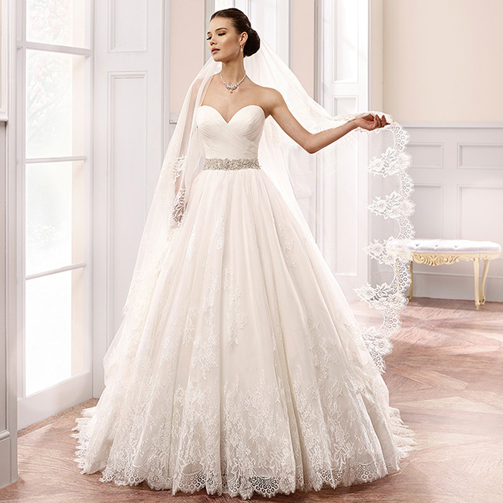 Bride Gowns 2015: Aliexpress.com : Buy 2015 Amazing Design White Princess
