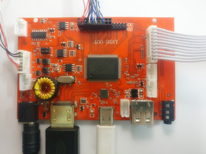 Image 2 - 10 אינץ פטל Pi LCD תצוגת 1280*800 ברזולוציה גבוהה צג מרחוק שלט נהג 2AV HDMI USB סוג C