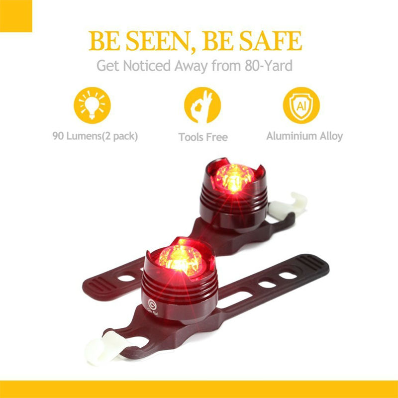 2 Bicycle Tail Light