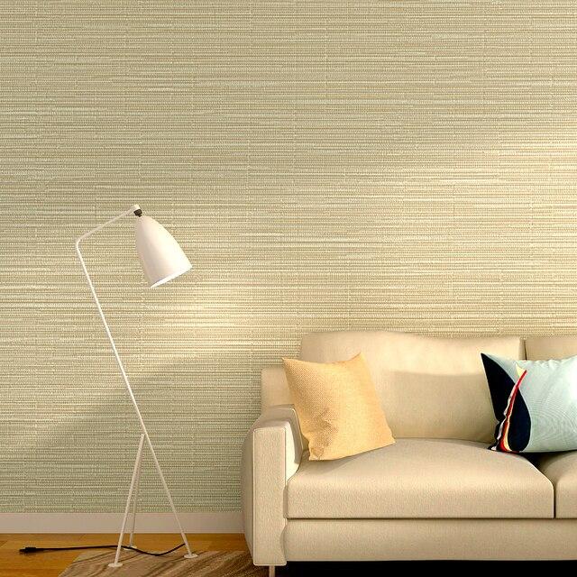 Moderne Solide Lin Papier Peint Rayures Tapel Tapiz Pour Salon