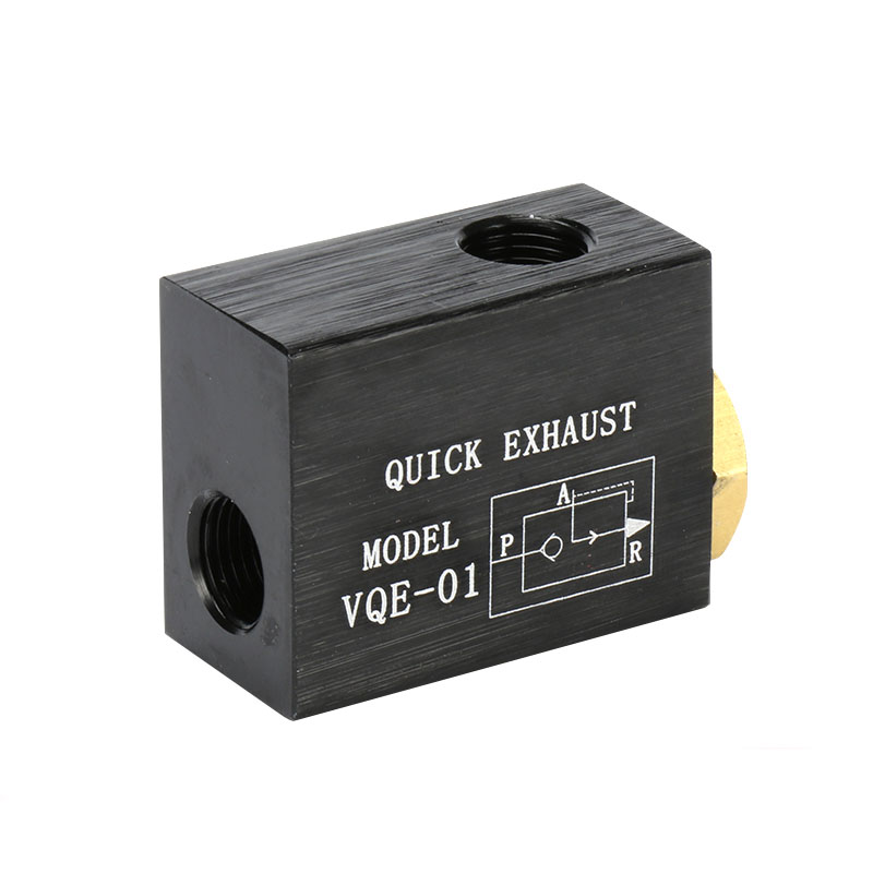 1pcs QE-01  1//8'' Thread  Quick Exhaust Air control Pneumatic Valves