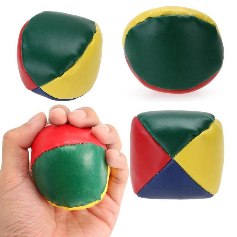 Forfar Juggling Balls Outdoor Sports Beanball Children Kids Toy Balls Classic Bean Bag Juggle Ball Outdoor Tool Travel Camping