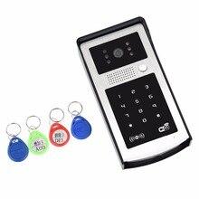 APP Remote Control WIFI Doorbell Password ID Card Wireless Video Door Phone