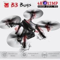 MJX Bugs 3 & B3 Chuyên Nghiệp RC Bay Không Người Lái Động Cơ Không Chổi Than FPV với 4 K WIFI Máy Ảnh Quadcopter Chất Liệu Nylon RC Máy Bay Trực Thăng VS SYMA X8