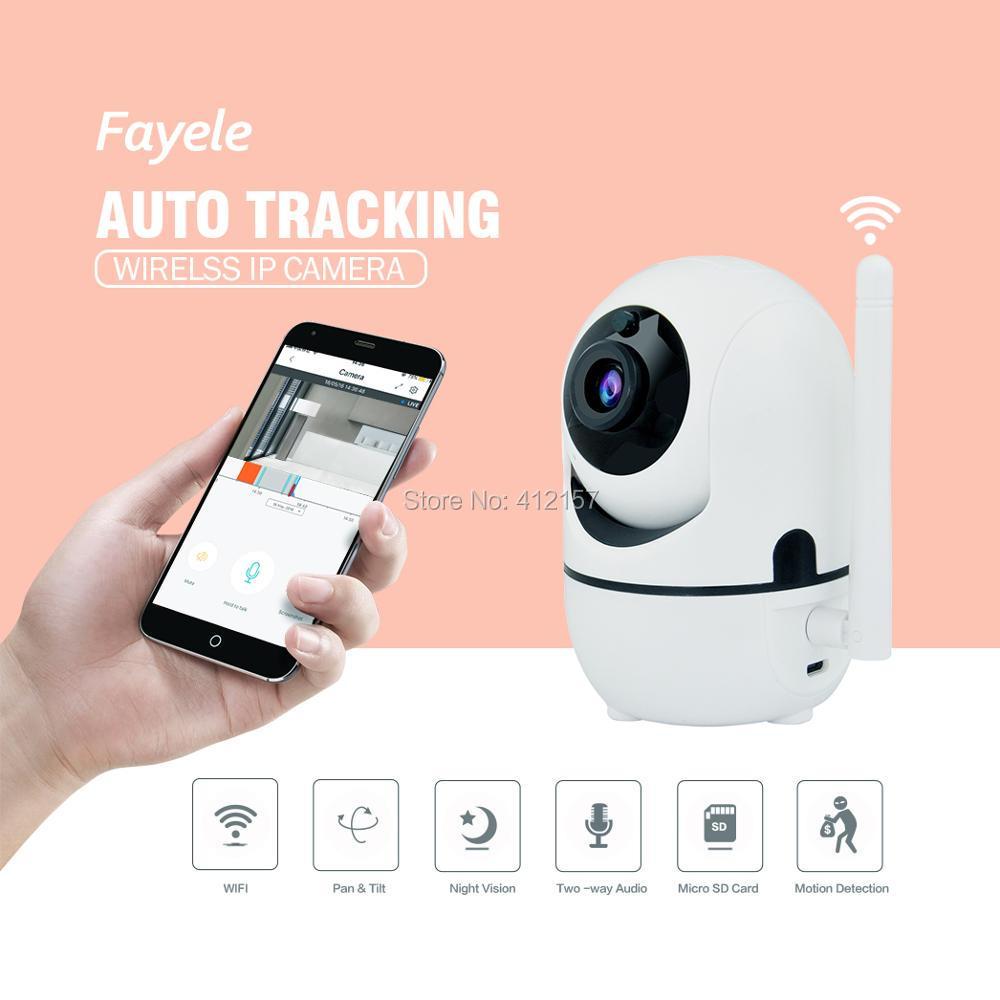 Super Mini Wireless WIFI 1080P IP Camera Night Vision Two Way Audio Recording Surveillance Network Indoor Baby Monitor Pan Tilt