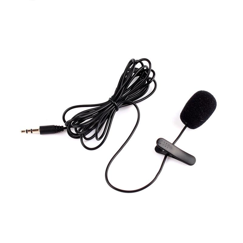 Live-geräte Neue 3,5mm Mini Studio Speech Mikrofon Mikrofon W/clip Für Pc Desktop Notebook Von Der Konsumierenden öFfentlichkeit Hoch Gelobt Und GeschäTzt Zu Werden Mikrofone