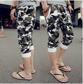2014 new summer hiphop trousers male Camouflage casual pants men casual harem pants with stars design