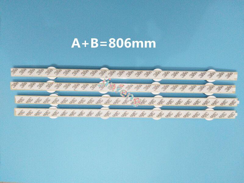 New 8 PCS/set LED Backlight Strip Bar Replacement For 39 Inch TV 39LB561V 39LB5800 Innotek DRT 3.0 39