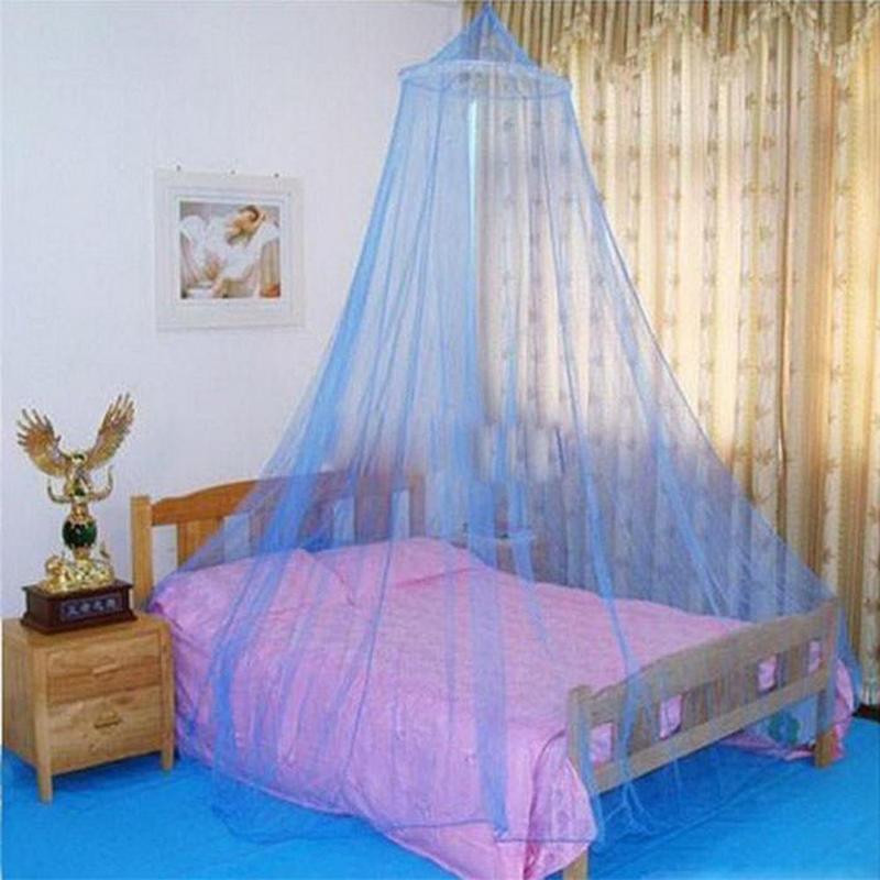 Summer Newborn Baby Bedroom Hanging Bedding Round Dome Canopy Elgant Mosquito Net Kids Baby Room Crib Netting bedroom Bed Decor