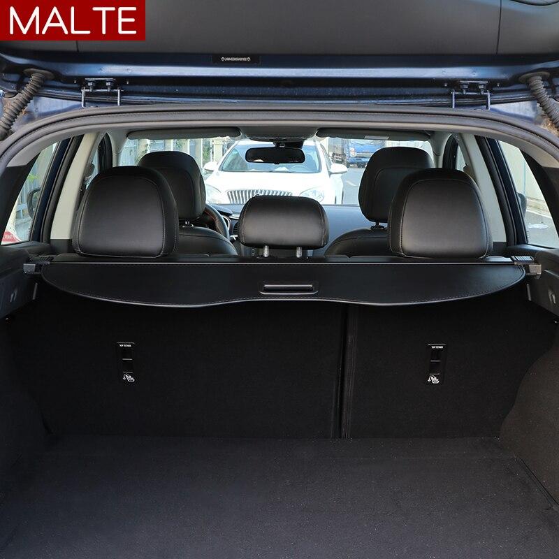 Achter Pakket Plank Kofferbak Cover Materiaal Gordijn Achter Gordijn Intrekbare Spacer Achter Rekken Voor Renault Koleos 2017 2018 2019