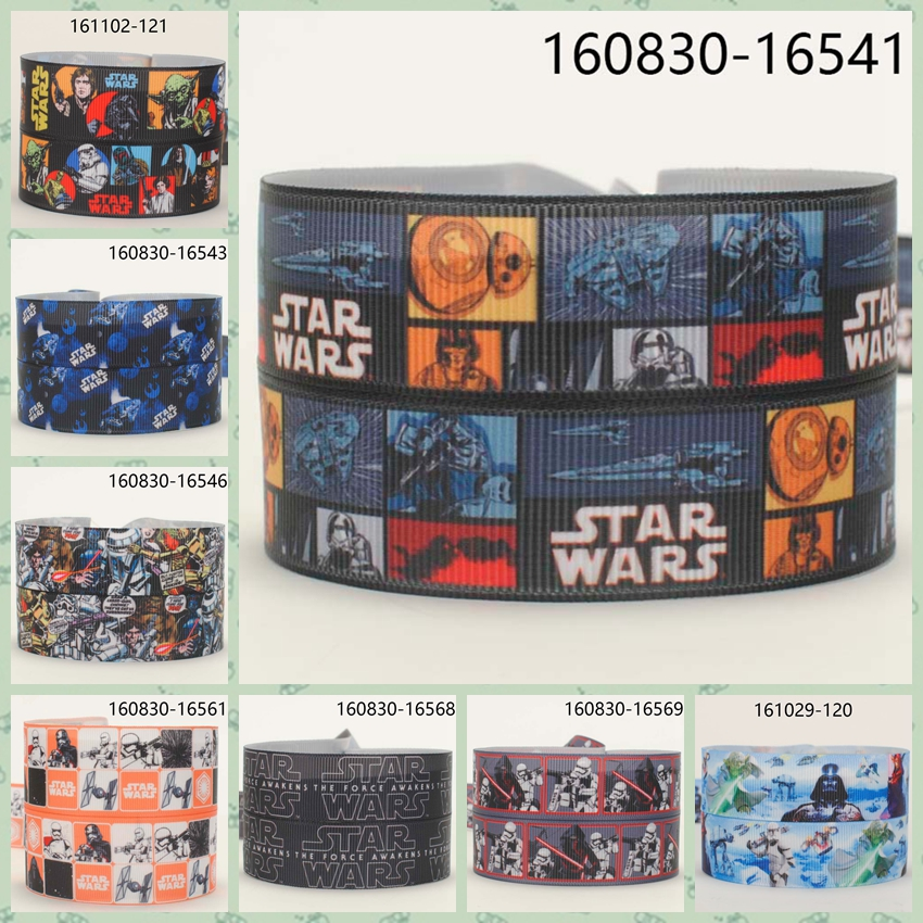 10yards -different Sizes -lovely Cartoon Movie Ribbon Printed Grosgrain Ribbon