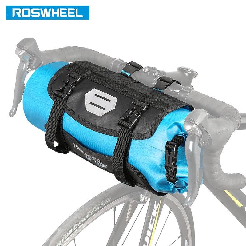 aefcc51d11d De ROSWHEEL SECO 3-7L Ciclismo Para Bicicleta de Manillar Delantero Basket  PVC Bolsas Impermeables