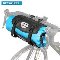 ROSWHEEL DRY 3 7L Cycling Bike Bicycle Handlebar Front Basket PVC Waterproof Bags Bike Accessories Cycle
