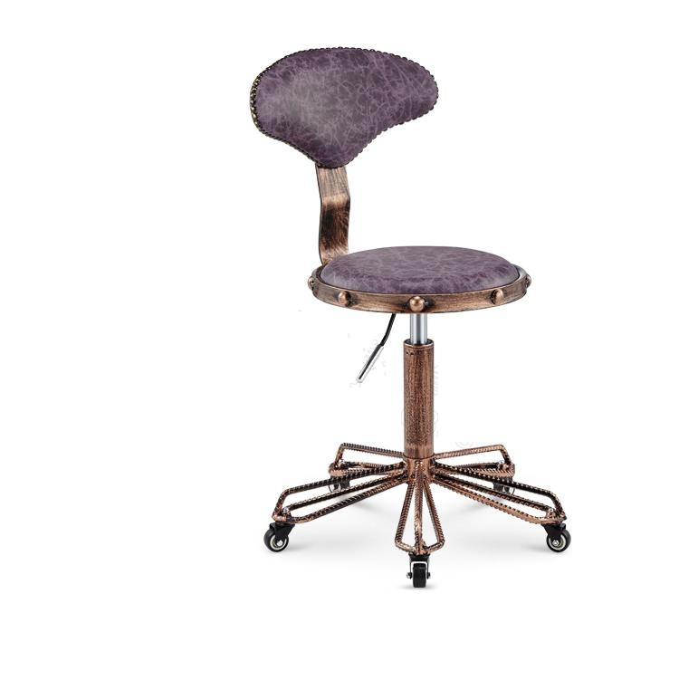 round salon massage chair with backrest adjustable swivel hydraulic rh aliexpress com massage chair for beauty salon salon style massage chair