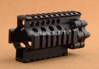 Ar15 Gun Rail System 4 Inch Scope Mount Base For Airsoft Hunting Shooting Rbo M1612