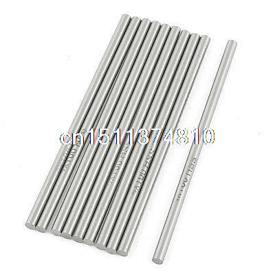10 Pcs 4mm Dia 100mm Long High Speed Steel HSS Lathe Bar Round Rod  цены