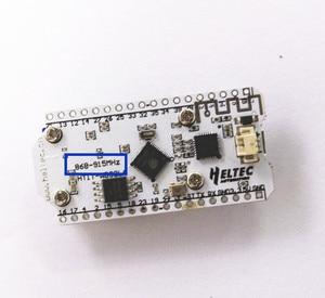 Image 4 - 2 pcs 868 mhz 915 mhz sx1276 esp32 lora 0.96 인치 블루 oled 디스플레이 블루투스 wifi lora 키트 32 v2 개발 보드 arduino 용