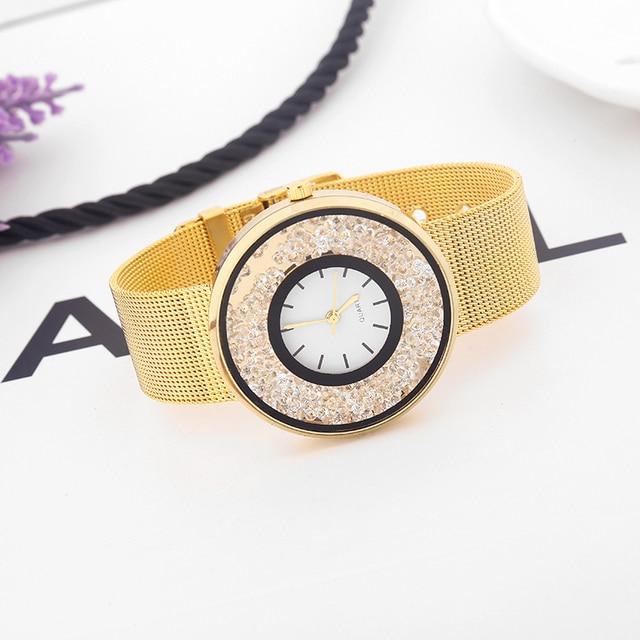 Zegarek damski Crystal Dial trzy kolory