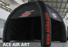 Popular Business Equipment Black Inflatable Tent For Sale Come with Free Air Blower