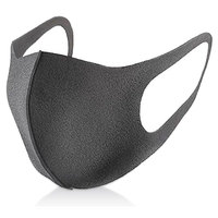 Simple Black Mouth Mask Cotton Men Women Anti Dust Protective Double Mask Washable Many Times
