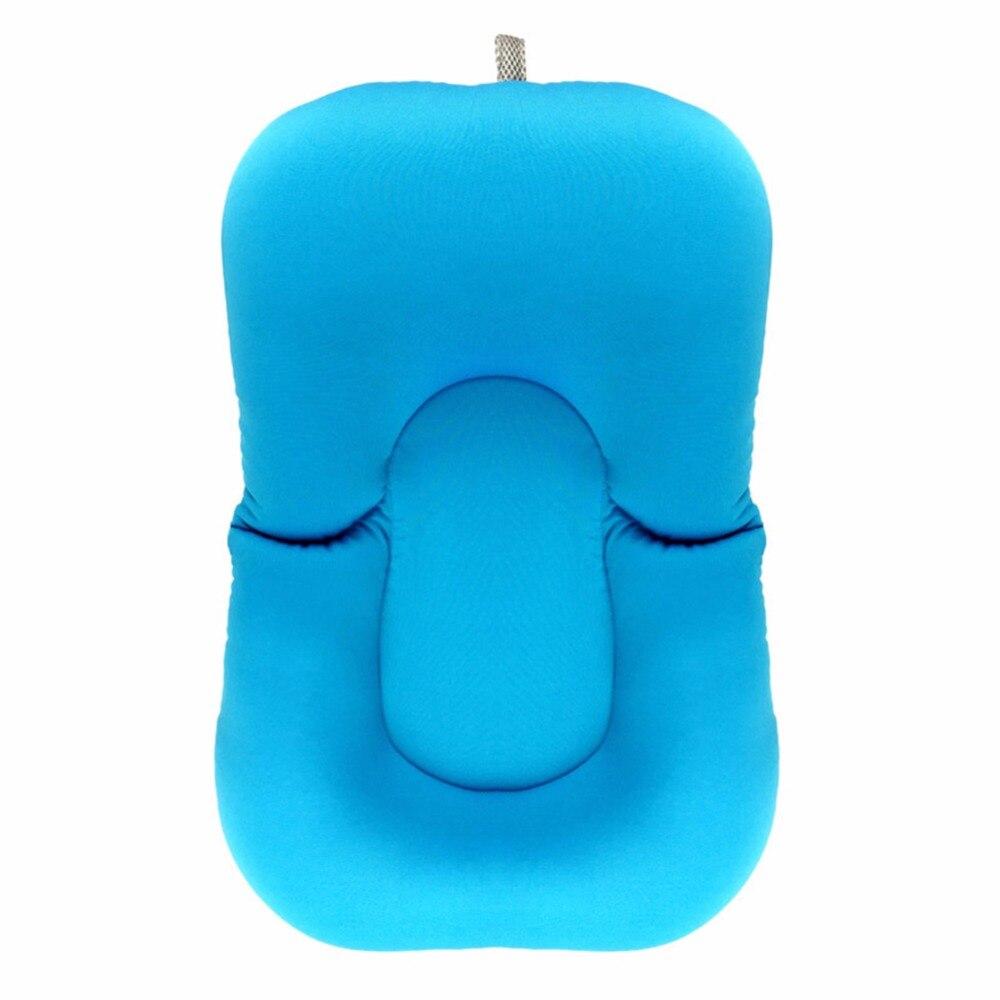 Foldable Baby Bath Pad Anti slip Bed Tub Newborn Babies Bath Shower ...