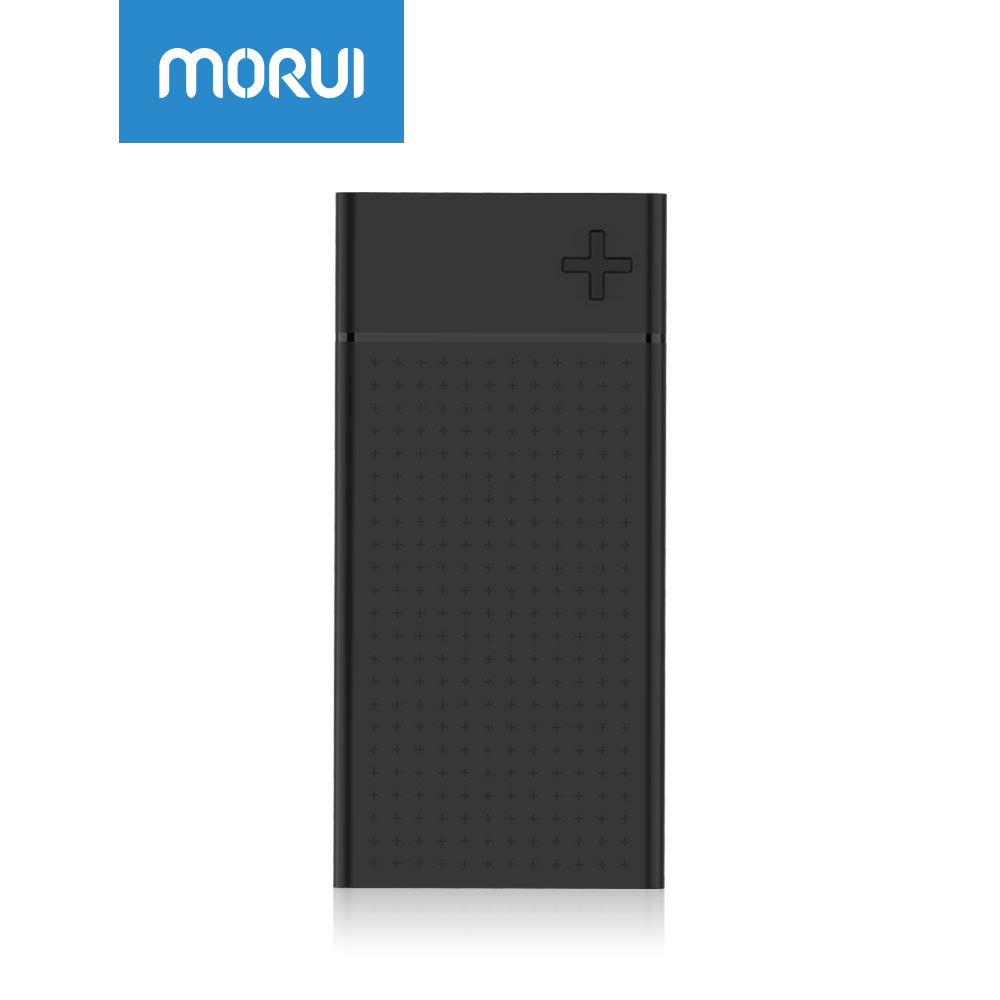 MORUI 20000mAh Power Bank SN20 Pro Quick Charge 3.0 External Battery Support QC3.0 USB Type-C Dual Input Output for Phone Tablet