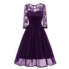 elegant chiffon evening gown Pretty Dress Gorgeous Round Neck Lace formal dress Sexy Party Dresses abiye gece elbisesi