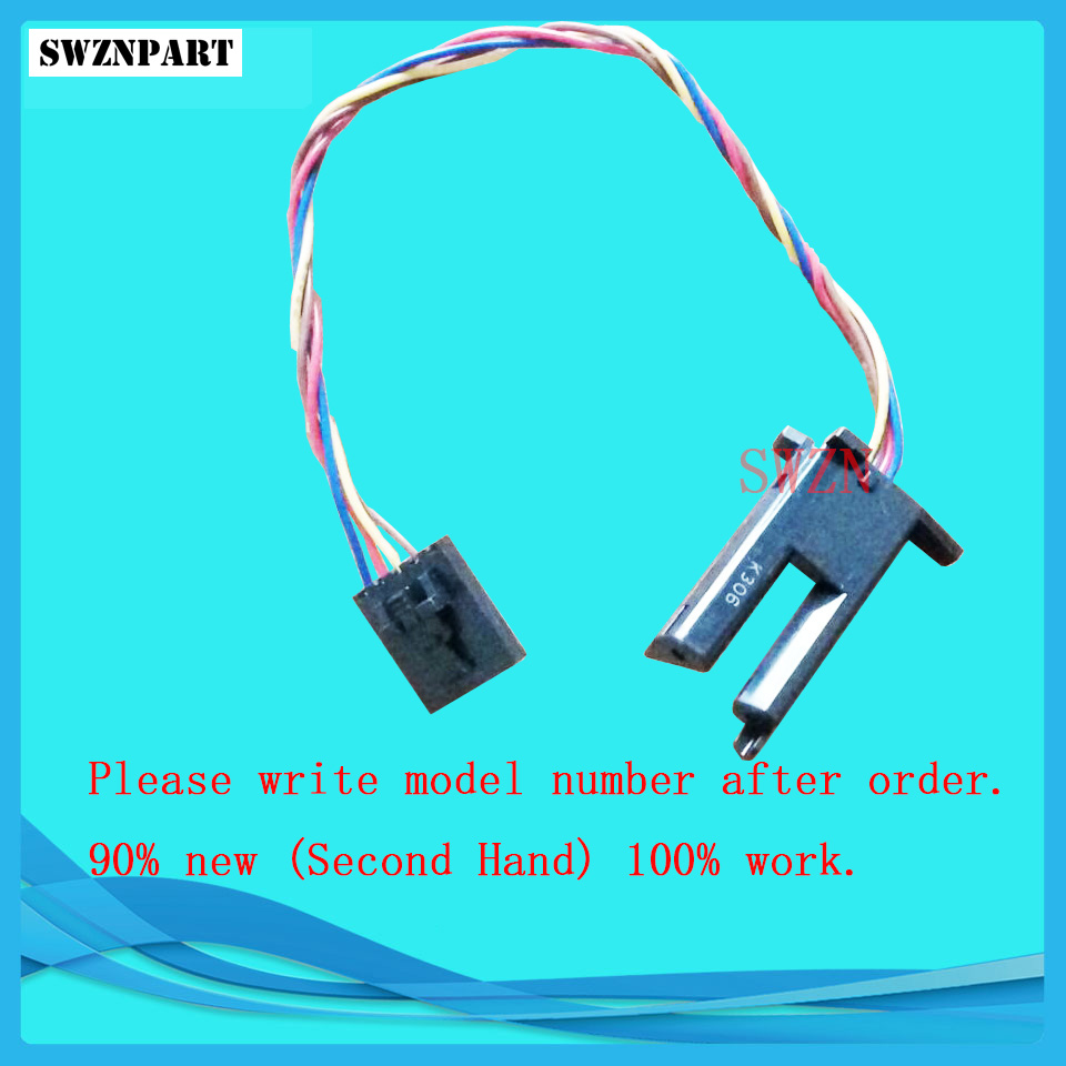 Single sheet sensor for HP T610 T1100 T770 T790 T1200 T2300 Z2100 Z3100 Z3200 T1120 Z5400 T1300 T790PS CH538-67033 q5669 60697 starwheel motor assembly for hp t610 t620 t770 t790 t1100 t1120 t1200 t2300 t7100 z2100 z3100 z3200 z5200