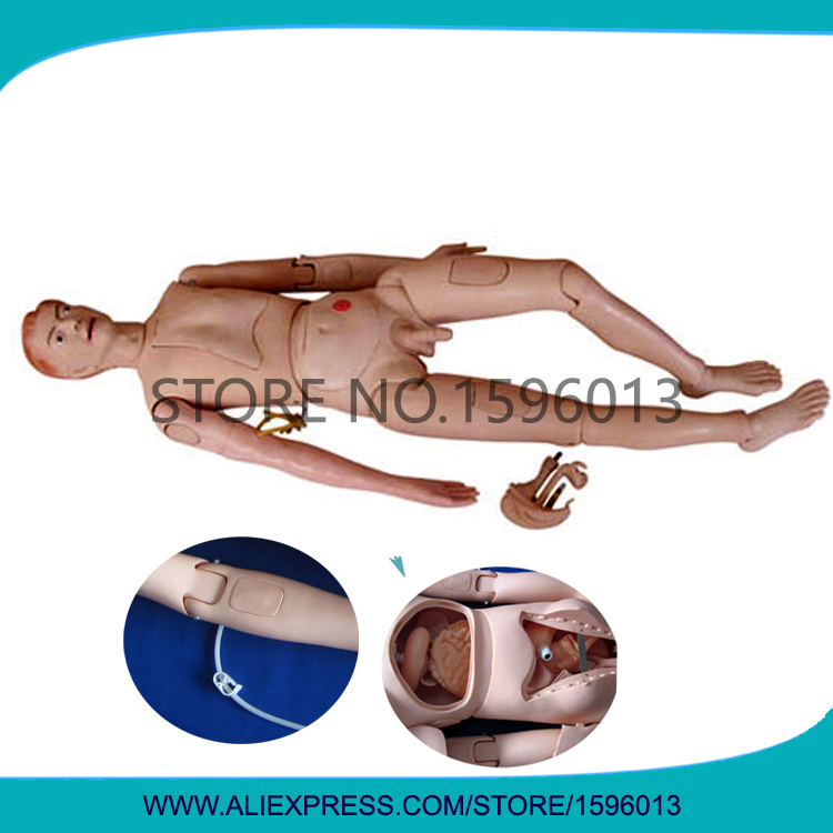 Advanced Nursing Training Manikin, Male Nursing Practice Mannequin, Patient Nursing Dummy malgrado 54019 1 15802